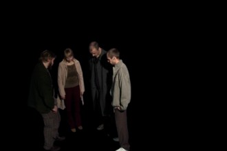 Still image from the video work / HD video, radio sound